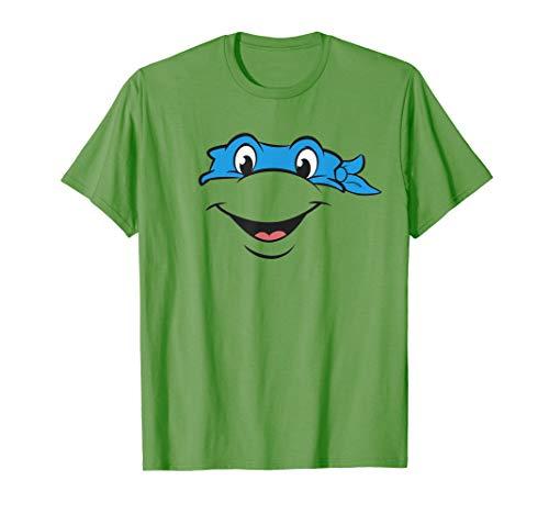 Teenage Mutant Ninja Turtles Leonardo Big Face Costume T-Shirt