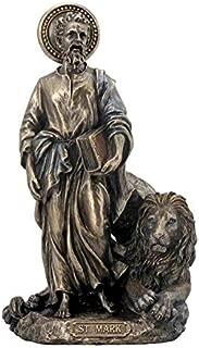 XoticBrands St Mark The Evangelist - Religious - Cold Cast Bronze Sculpture