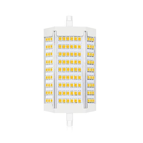 Bonlux 30W R7s Dimmable 118MM ampoule led J118 projecteur Lumière du jour 4000K double extrémité 3000lm équivaut à 300W ampoule halogène pour maison, salon, balcon, bureau, hôtel, restaurant (1pcs)