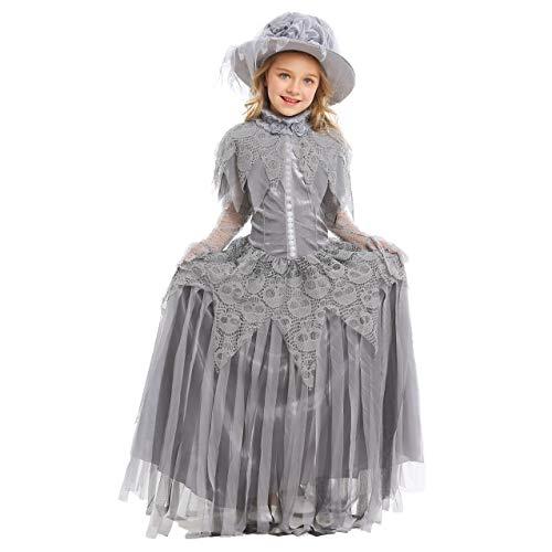 LOLANTA Disfraz de Novia espíritu fantasmal de niña Vestido de Novia Fantasma...