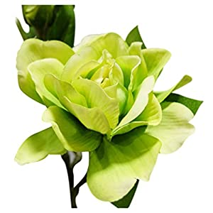 giveyoulucky Wedding Party Bouquet 1Pc 3 Heads Fashion Artificial Gardenia Flower Home Decor