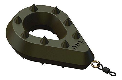 SURETTI Angelblei Grip-Bomb mit Öse und Wirbel, grün, 120 g x 6 Stück, 7235921A