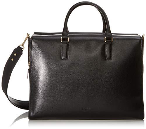 BREE Damen Chicago 9, Black, Business Bag Business Tasche Schwarz (Black)