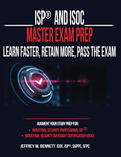 ISP® and ISOC Master Exam Prep – Learn Faster, Retain More, Pass the Exam Front Cover