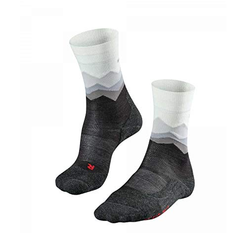 FALKE Damen TK2 Crest Trekking Socken, Black, 37-38