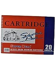 Super Deal SD62922 A4 Drawing Book Color