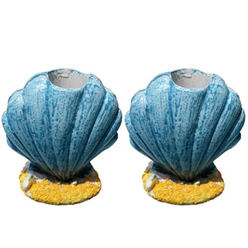 Streudeko o para Scrap Booken 3,5/cm beige 24/peque/ños peces de madera en azul blanco como mesa DISPERSA