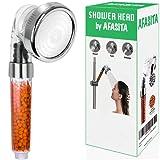 AFASITA Alcachofa de ducha, filtro ducha, alcachofa ducha alta presión, cabezal ducha, mango ducha, telefono ducha, alcachofa de ducha con filtro,filtro ducha antical, cabezal ducha (sin manguera)