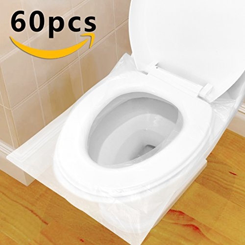 Protector WC Desechable Impermeable, HTBAKOI Protector Water