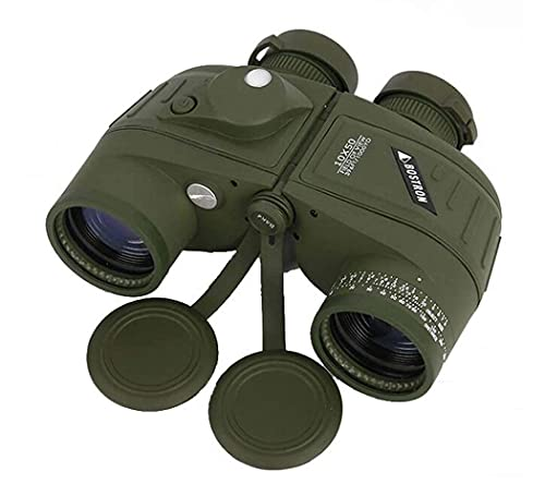 Teleskop / Ferngläser, 10x50 mit Nachtsicht-Rangefiltern und Kompass-Teleskope, wasserdicht stoßfest, BAK4-Prisma, autonomer Rangfinder-Lineal - für Camping- / Wildlife-Landschaft / Reise / Rohstoffko