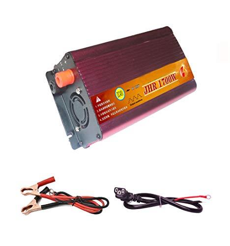 JHKJ-Inverter Konverter 36V Zu 220V Zigarettenanzünder-Adapter, Konverter Und USB-Anschluss Auto Wechselrichter,1700w