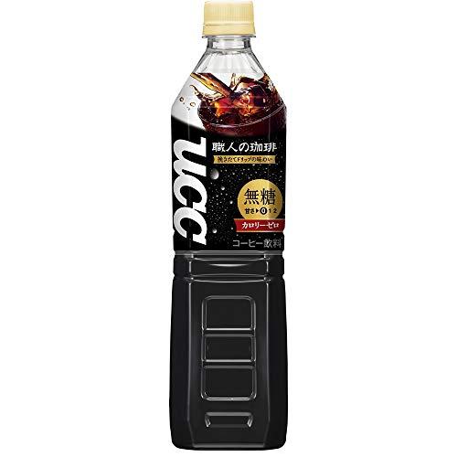 UCC職人の珈琲ボトルコーヒー無糖ペットボトル930ml×3本