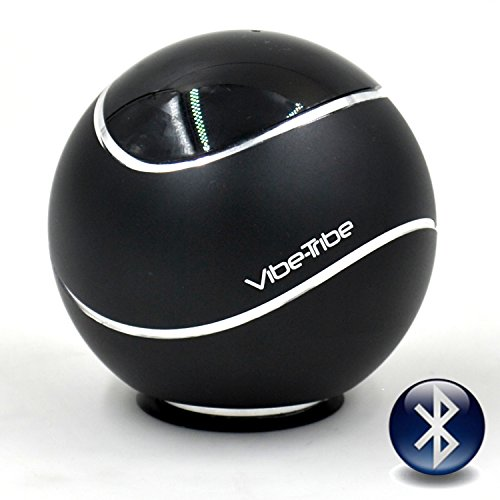 Vibe-Tribe Orbit Black - 15 Watt Bluetooth Vibration-Lautsprecher, NFC & Freisprechanlage