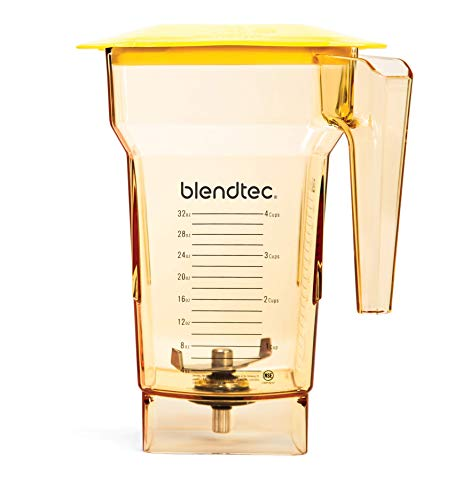 Blendtec Fourside Jar Commercial Grade - BPA Free, 75 oz, Yellow