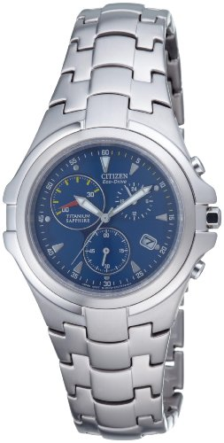 Citizen Herren Chronograph Super Titanium AT1100-55L