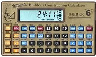 Jobber 6 Construction Calculator by Jobber Instruments