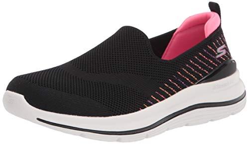Skechers Women's Walking Sneaker, Black/Multi