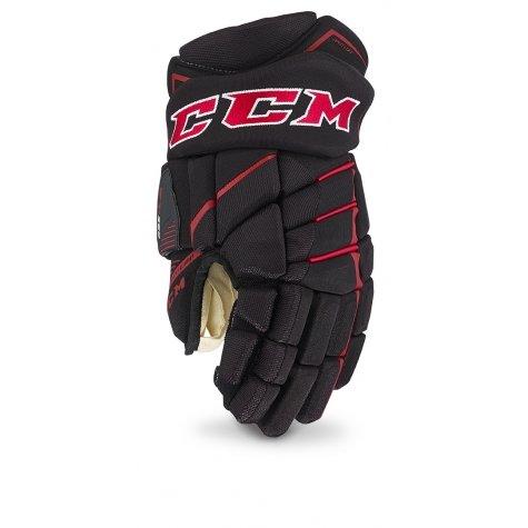 CCM Jetspeed FT390 Handschuh Senior, Größe:15 Zoll, Farbe:Schwarz/Weiß