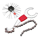 1PCS 3in 1Bicycle Chain Whip Sprocket Cassette Lockring Bottom Bracket BB Wrench tool