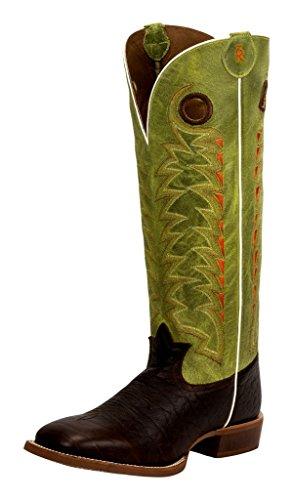 Tony Lama Herren Cowboy Stiefel 3R1028 Choco Westernreitstiefel Buckarroo Lederstiefel Braun 48 EU