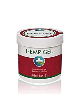 HEMP GEL - Gel natural a base de cáñamo y alcanfor para alivio y masaje (300 ml)
