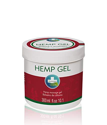 Annabis HEMP GEL for pain relief   with Hemp Oil / Cannabis Oil   Back Pain Relief Gel   Muscle Gel   THC free   300ml