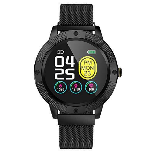 Fesjoy Smart Sport Armbanduhr Fitness Timer Intelligentes Trainingsarmband Farbdisplay Herzfrequenzmessung Schlafüberwachung Fotoaufnahme Multisportmodus Informationen Push Magnetic Steel Strap