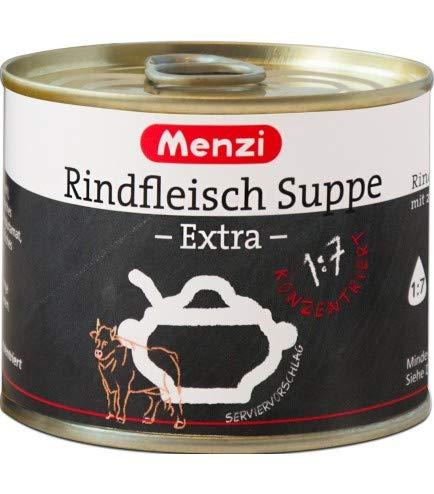 Rindfleischsuppe EXTRA 1:7 von MENZI, Sparpack mit 5 x 200g