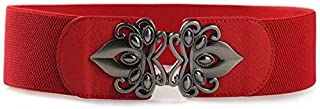 Red Leather Belt For Women