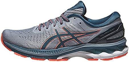 ASICS Men's Gel-Kayano 27 Running Shoes, 11, Sheet Rock/Magnetic Blue