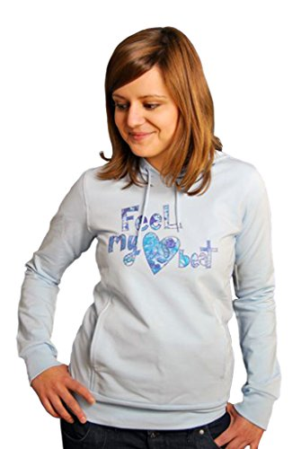 Element Heart Beat Kapuzenpullover Baby Blau Girls Hoody M