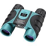 BARSKA 10x25mm Blue Waterproof Compact Binoculars (AB12726)