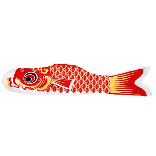 SimpleLife 70cm Koi Nobori Carp Wind Socken Koinobori Bunte Fische Flagge Hängen Wanddekor