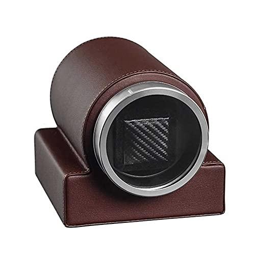 UOOD Binder automático único con Motor silencioso, 2 configuraciones de Modo de rotación, Adecuado para Reloj de Pulsera para Hombres y Damas Excelente Mano de Obra (Color : Brown)