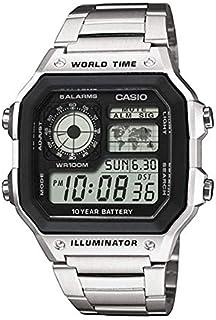ساعة كاسيو رقمية كابليرو AE-1200WHD-1AVE للجنسين