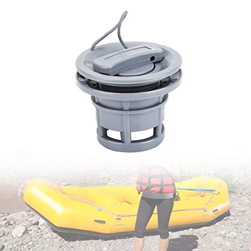 Yosoo Health Gear Reemplazo de válvula de Kayak, Válvula de Aire de Barco, 1 Pieza Reemplazo de Tapa de válvula de Gas de Aire de PVC para Canoa Inflable Bote de Kayak