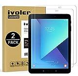 ivoler [2 Unidades] Protector de Pantalla para Samsung Galaxy Tab S3 9.7 Pulgadas / S2 9.7 Pulgadas, Cristal Vidrio Templado Premium [Dureza 9H] [Anti-Arañazos] [Sin Burbujas]