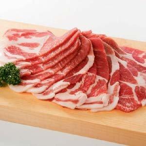 豚肩ロース(スライス) 500g 2mm(国産)バーベキュー BBQに最適【豚肉】(im)