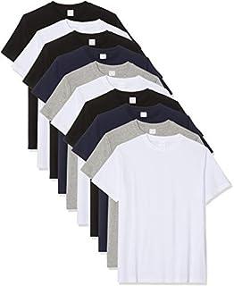 Luigi Bottoni T-shirt, Multicolore, Schwarz, Navy, Mélange Grau Blanc), XXL, Lot de 10 (B07VHW3X3W) | Amazon price tracker / tracking, Amazon price history charts, Amazon price watches, Amazon price drop alerts