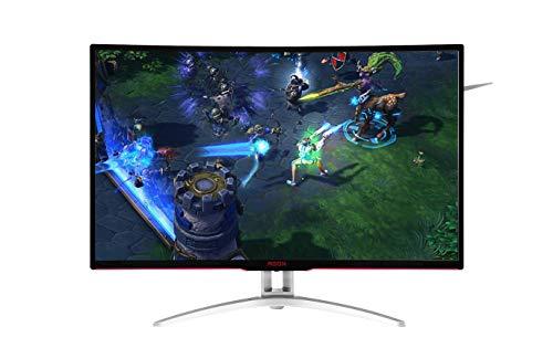 "Monitor Gamer, AOC, AG322FCX, Preto, LED 32"""