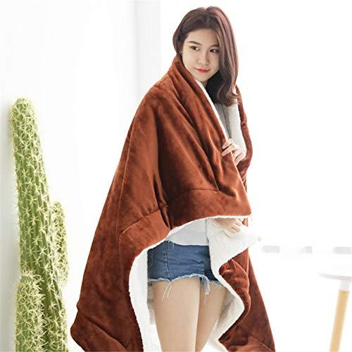 Manta con mini pompones multifunción, manta de franela para sofá, colcha, silla, cojín de cama, funda plegable para cama individual, doble, cojín suave para tumbona (tamaño: 120 x 200 cm; color: #2)