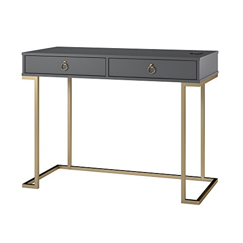 Graphite Gray Serenity Writing Desk