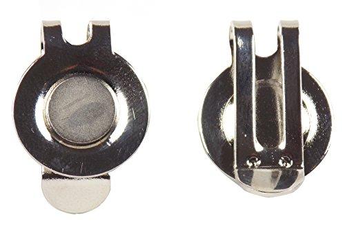 2 x Super Résistant magnétique Hat Clips par Mercie de Golf.