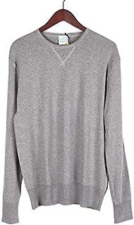 [ルトロワ] CLAUDE クロード クルーネック 長袖 カットソー Tシャツ グレー LT001 コットン メンズ