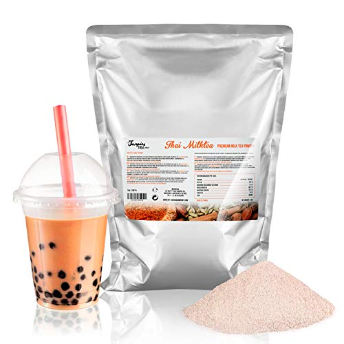 Premium Thai Milchtee Pulver für Bubble Tea - 1000g | Thai Milk Tea Powder - Hochwertige Inhaltstoffe - Ohne künstliche Farbstoffe