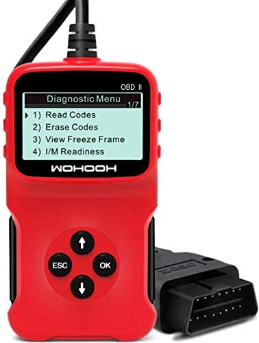 LURICO OBD2 Scanner Car Code Reader Read Codes Clear Codes View Freeze Frame Data I M Readiness product image