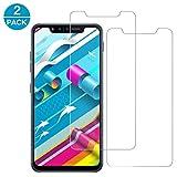 KAJIE LG G8S ThinQ Panzerglas[2 Pack] 9H Festigkeit,Kratzfest,Blasenfrei,Ultra-Transparenz LG G8S ThinQ Panzerglas für LG G8S ThinQ