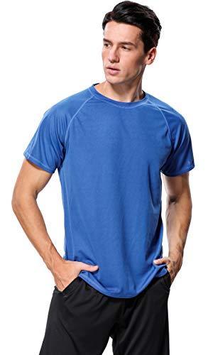 ATTRACO Herren-Badeshirt, Kurzarm-Shirt, Sonnenschutz, lockere Passform, Herren, navy, XX-Large