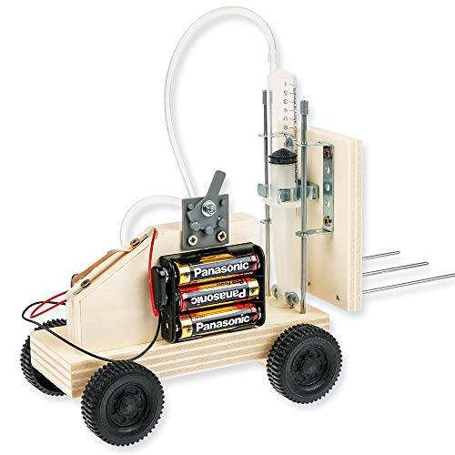 Matches21 Hubstapler - Juego de construcción con neumático eléctrico para manualidades con compresor eléctrico, para niños a partir de 11 años