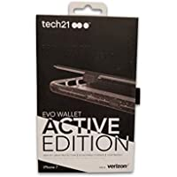 Tech21 Evo Active Edition Wallet Case for iPhone 8/7/6 - Smokey/Black